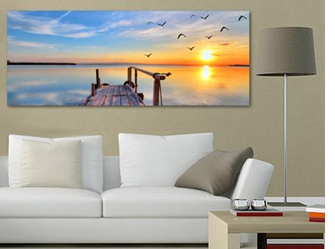 panoramabilder leinwandbilder im panoramaformat. Black Bedroom Furniture Sets. Home Design Ideas